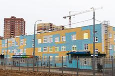На Правобережье построен новый детский сад