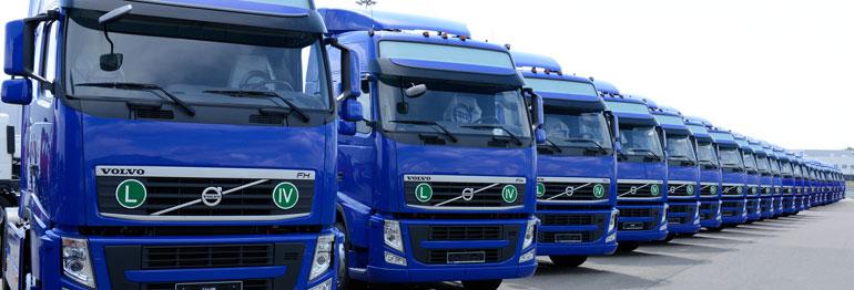 Грузовые автомобили Volvo